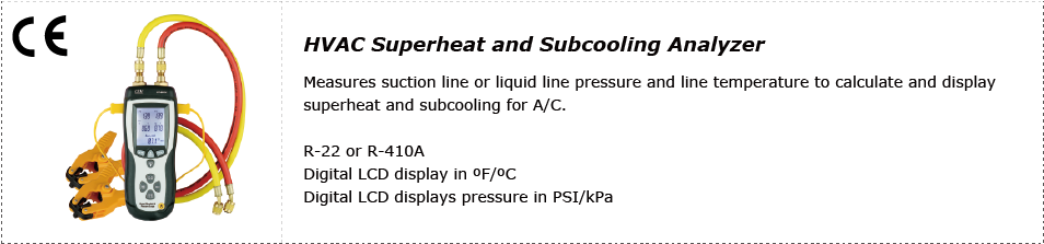 cem-dt-8921-hvac-superheat-and-subcooling-analyzer-applications